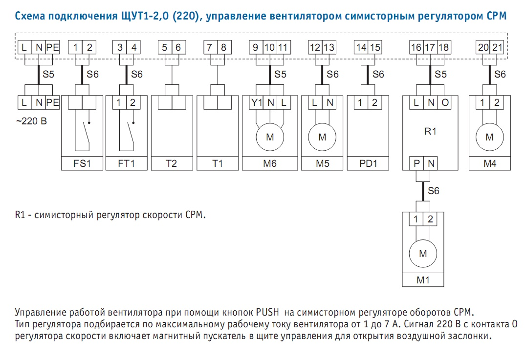 Схема управления вентиляционной установкой фото 185